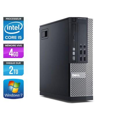Dell Optiplex 7010 SFF - Core i5 - 4Go - 2To