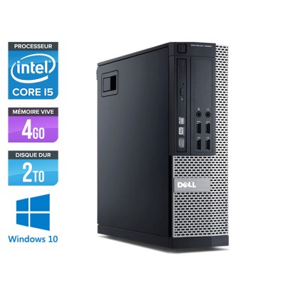 Dell Optiplex 7010 SFF - Core i5 - 4Go - 2To - Windows 10