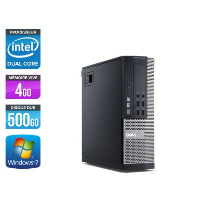 Dell Optiplex 7020 SFF - Intel pentium - 4go - 500go -hdd - windows 7