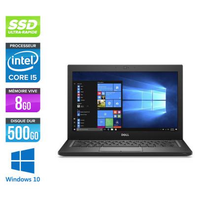 Pc portable - Ultraportable reconditionné - Dell Latitude 7280 - i5 - 8Go - 500Go SSD - Windows 10