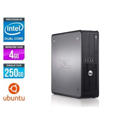 Dell Optiplex 780 SFF - E5300 - 4Go - 250Go - Linux