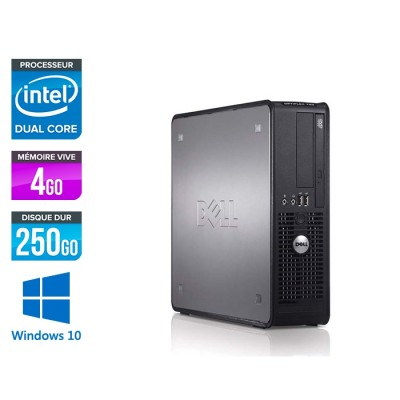 Dell Optiplex 780 SFF - E5300 - 4Go - 250Go - Windows 10