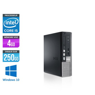 Dell Optiplex 790 USFF - i5 - 4Go - 250Go - windows 10