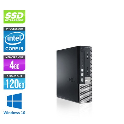 Dell Optiplex 790 USFF - i5 - 4Go - 120Go SSD - windows 10