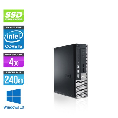 Dell Optiplex 790 USFF - i5 - 4Go - 240Go SSD - windows 10