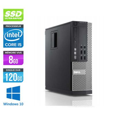 Dell Optiplex 790 SFF - Core i5 - 8Go - 120Go SSD- Windows 10