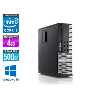 Dell Optiplex 790 SFF - i3 - 4Go - 500Go - Windows 10