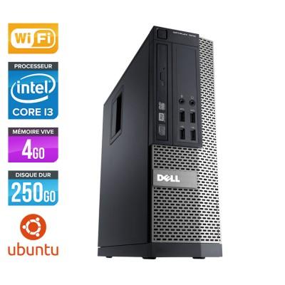 Dell Optiplex 790 SFF - Core i3 - 4Go - 250Go - Wifi - Linux