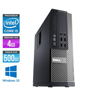 Dell Optiplex 790 SFF - Core i5 - 4Go - 500Go - Windows 10