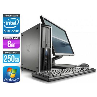 HP Elite 8100 SFF + Ecran 17 pouces