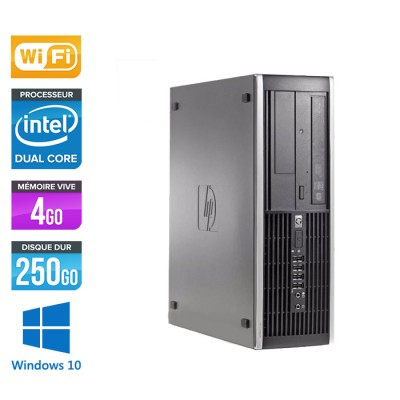 HP Elite 8300 SFF - G870 - 4Go - 250Go HDD - Wifi - Windows 10