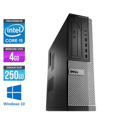 Dell Optiplex 990 DT - Core i5 - 4Go - 250Go - Windows 10