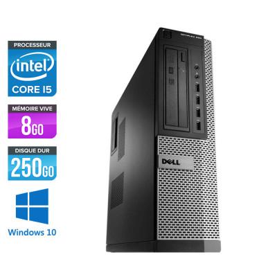 Dell Optiplex 990 DT - Core i5 - 8Go - 250Go - Windows 10