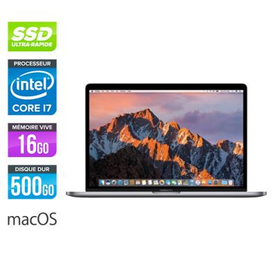 Apple MacBook Pro 15 retina - reconditionné - i7 - 16Go - 500Go SSD - MacOs - A1398