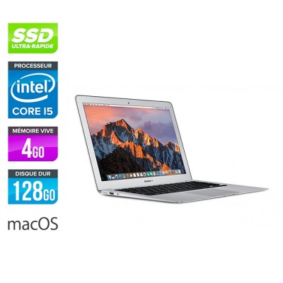Apple MacBook Air 11 - i5 4260U - 4Go - 128Go SSD - MacOs X