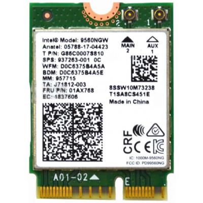 Carte WIFI Intel 9560NGW Dual Band Wireless-AC 9560 - 9560NGW R - Trade Discount