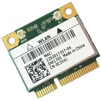 Carte WIFI Mini PCIe Dell + Bluetooth 4.0 - DW1705 / C3Y4J