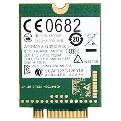 Carte WIFI Huawei HSPA + GSM Huawei - HP - MU736