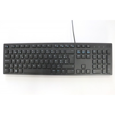 Clavier belge Dell USB Filaire Azerty - SK-8123 - 106 touches