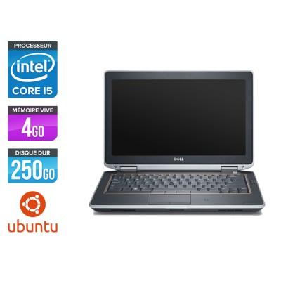 Dell Latitude E6320 - i5 - 4Go - 250Go - Ubuntu