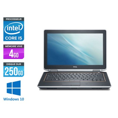 Dell Latitude E6320 -  i5 - 4Go - 250Go - Windows 10