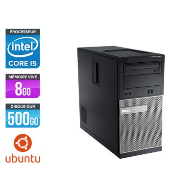 Dell 3010 Tour - i5 - 8Go - 500Go HDD - Linux