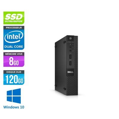 Dell 3020 Micro - G3250T - 8Go - 120Go SSD - W10