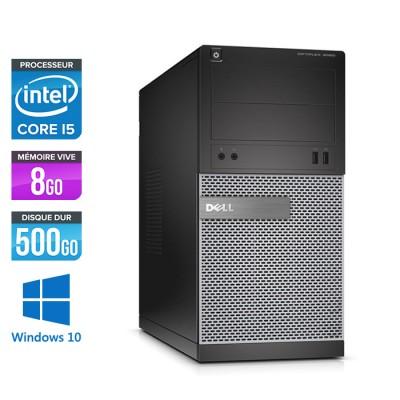 Dell Optiplex 3020 Tour - i5 4570 - 8Go - 500Go - Windows 10