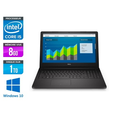 Dell 3560 - i5 - 8Go - 1To HDD - 15,6'' - W10