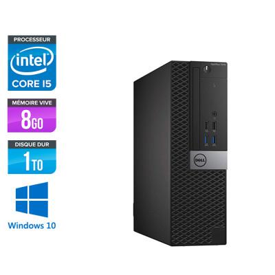 Dell Optiplex 5050 SFF - i5 - 8Go - 1To HDD - Win 10