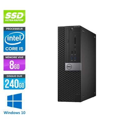 Dell Optiplex 5050 SFF - i5 - 8Go - 240Go SSD - Win 10