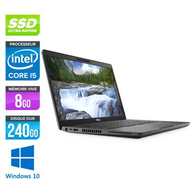 Pc portable reconditionné - Dell 5300 - Core i5 - 8 Go - 240Go SSD - Windows 10