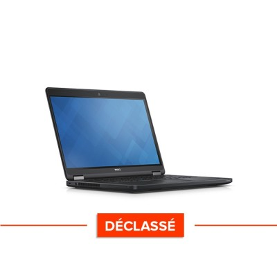 Pc portable reconditionné - Dell Latitude E5450 - i5 - 8Go - 500Go HDD - Windows 10 Famille - Déclassé