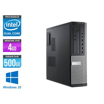Dell 7010 Desktop - intel G2020 - 4 Go -500 Go - Windows 10