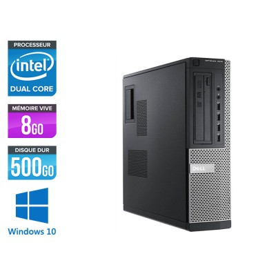 Dell 7010 Desktop - intel G2020 - 8 Go - 500 Go - Windows 10