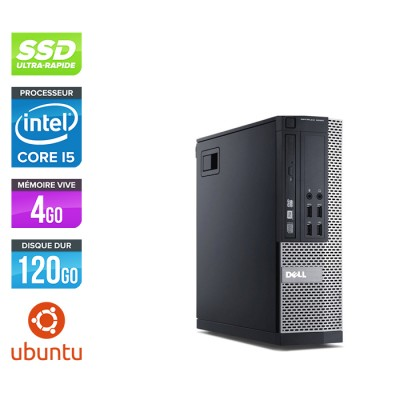 Dell Optiplex 7010 SFF - i5 - 4Go - 120Go SSD - Linux