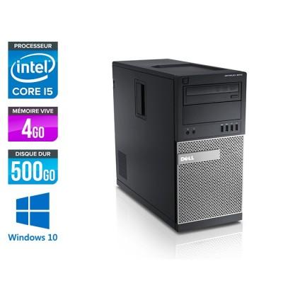 Dell Optiplex 7010 Tour reconditionné - i5 - 4Go - 500Go - Windows 10