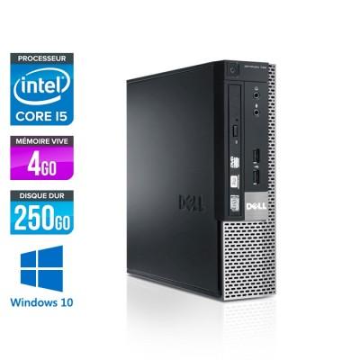 Dell Optiplex 7010 USFF - i5  - 4Go - 250Go - Windows 10