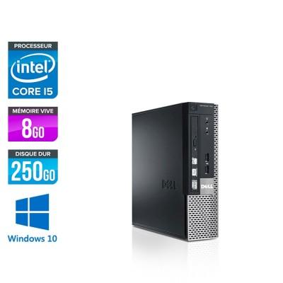 Dell Optiplex 7010 USFF - i5  - 8Go - 250Go - Windows 10
