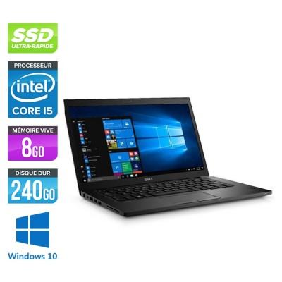 Pc portable reconditionné - Dell 7480 - Core i5 - 8 Go - 240Go SSD - Windows 10
