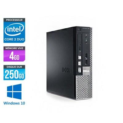 Dell Optiplex 780 USFF - Core Duo E5300 - 4Go - 250Go HDD - Windows 10
