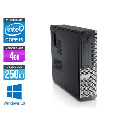 Dell Optiplex 790 Desktop - i5 - 4Go - 250Go HDD - Windows 10