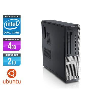 Dell Optiplex 790 Desktop - G630 - 4Go - 2To - Linux