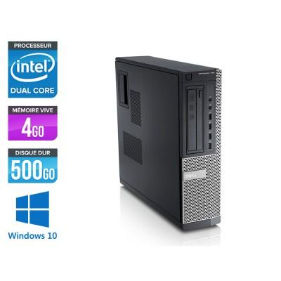 Dell Optiplex 790 Desktop - G630 - 4Go - 500Go - Windows 10