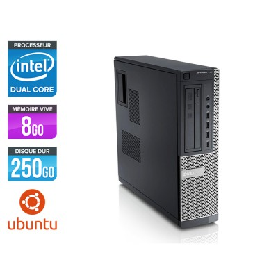 Dell Optiplex 790 Desktop - G630 - 8Go - 250Go - Linux