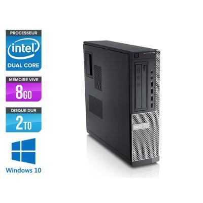 Dell Optiplex 790 Desktop - G630 - 8Go - 2to - Windows 10