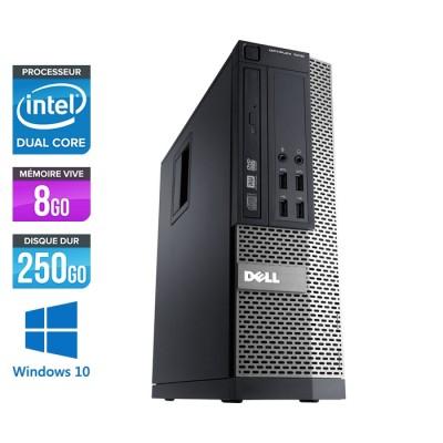 Dell Optiplex 790 SFF - intel G630 - 8Go - 250 Go - Windows 10