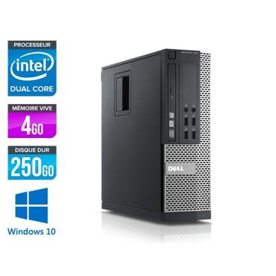 Dell Optiplex 790 SFF - intel G630 - 4Go - 250 Go - Windows 10