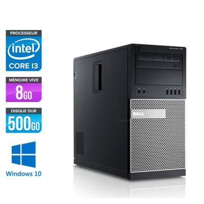 Dell Optiplex 790 Tour - Core i3 - 8Go - 500Go HDD - Windows 10