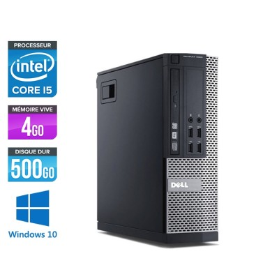 Dell Optiplex 9010 SFF - i5 - 4Go - 500Go - W10